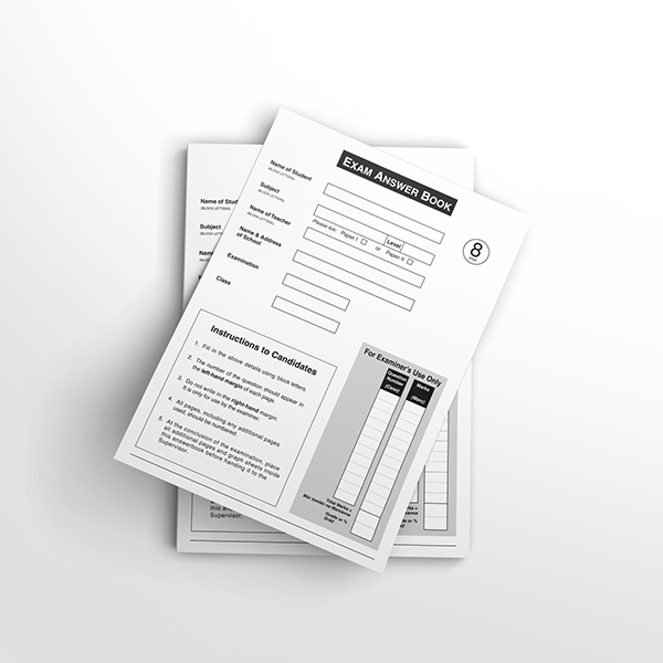 Standard Answer Booklets